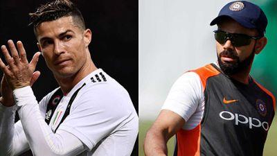 Kohli Is To Cricket What Ronaldo Is To Football?