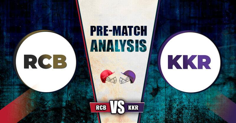 RCB vs KKR Match-28th IPL 2020 Dream 11 Prediction