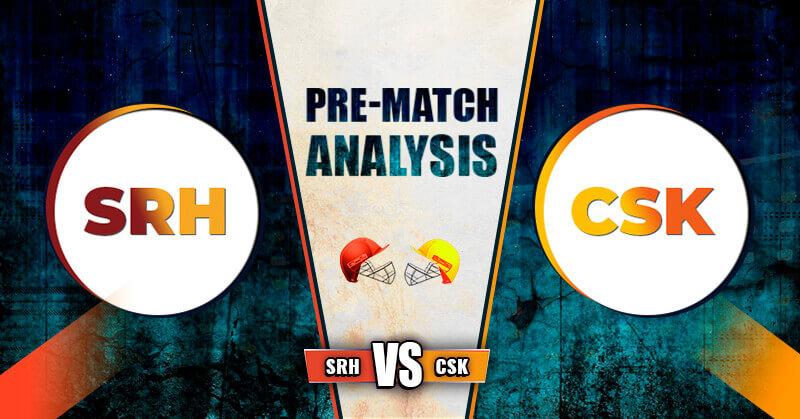 CSK vs SRH Match - 29th IPL 2020 Dream 11 Prediction