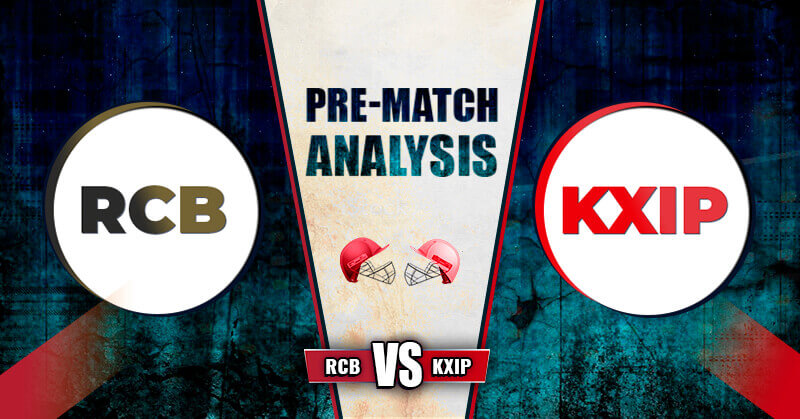 RCB vs KXIP Prediction