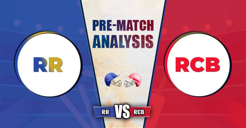 RR vs RCB Dream 11 Prediction