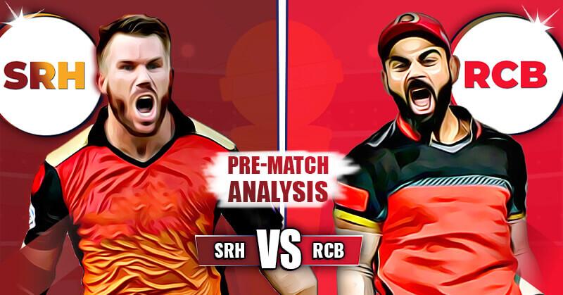 IPL 2020 RCB V/S SRH (Eliminator) Today Match Prediction