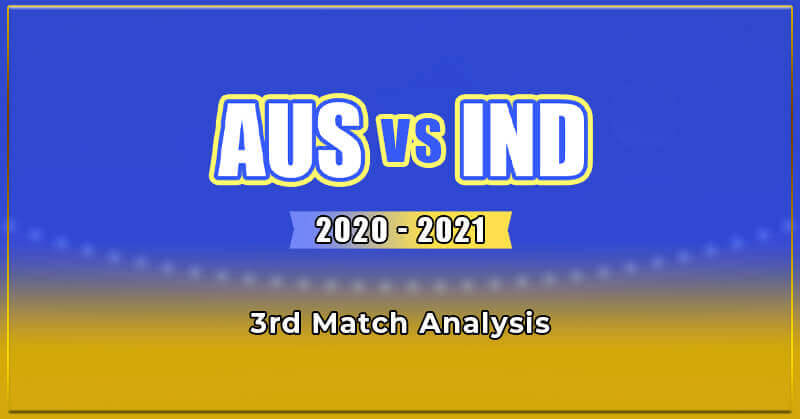 Australia vs India 2020- 2021 - 3rd ODI Prediction