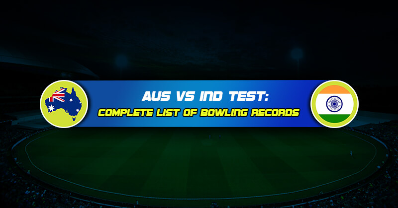 Australia Vs India Test: Complete list of bowling records