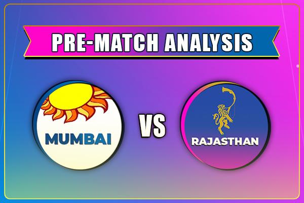 MI vs RR Head to Head Match Prediction IPL 2021
