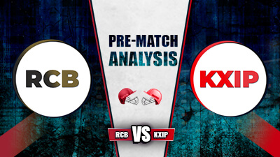 RCB vs KXIP Prediction