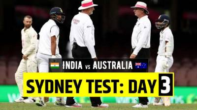 Australia  vs India 3rd Test Day 3 highlights SCG