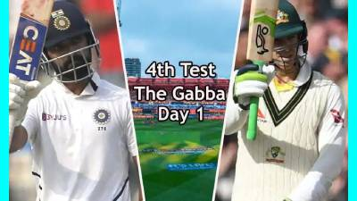 Australia vs India 4th Test Day 1 highlights