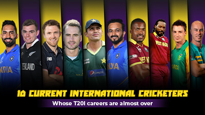 10 current international cricketers whose T20I careers are almost over