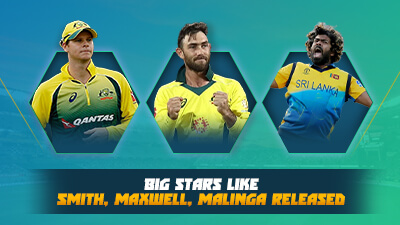 IPL 2021 players retained and released
