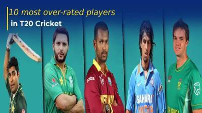 10 most over-rated players in T20I Cricket