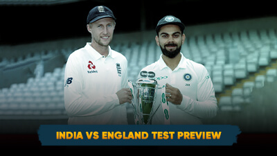 India Vs England Test Match Preview