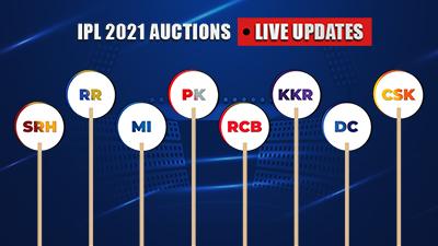 IPL 2021 Auction: Live updates - Complete details