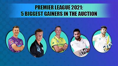 IPL 2021 Auction: 5 biggest gainers