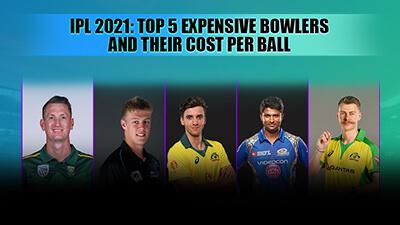 IPL 2021: Top 5  bowlers and their cost per ball