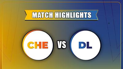 IPL 2021 CSK vs DC Match - 2 Highlights