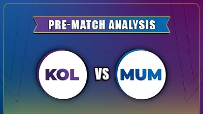 IPL 2021 Match - 5 KKR vs MI Head to Head Prediction