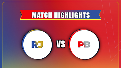 IPL 2021 4rth Match PBKS vs RR Highlights