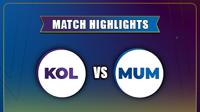 IPL 2021 5th Match MI vs KKR Highlights