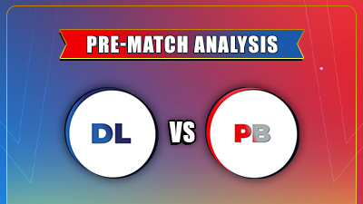 Match - 11th PBKS vs DC Today Match Prediction