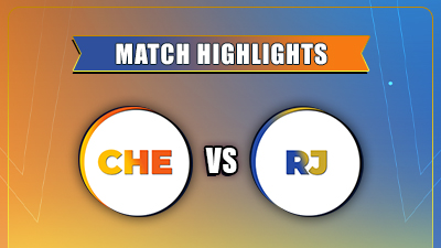 IPL 2021 Match - 12th CSK vs RR Highlights