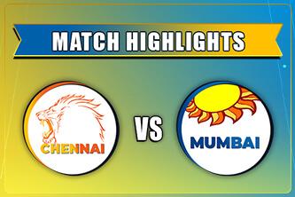MI vs CSK Match Highlights IPL 2021