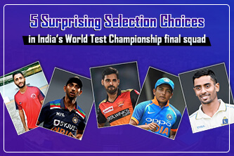 Top 5 Indian Players who surprising selection for the WTC Final Squad