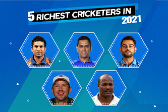 5 Richest cricketers in 2021