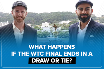 What happens if the WTC final ends in a draw or tie?