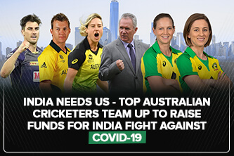 India needs us - Top Australian cricketers crew up to raise assets for India battle against Coronavirus