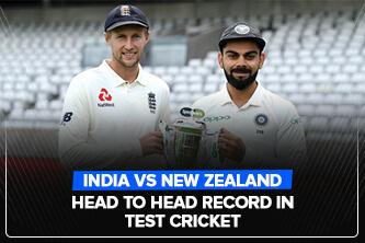 India Vs New Zealand Head to Head Record in Test Cricket