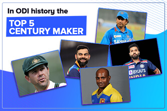 Top 5 Cricketer who makes most centuries in ODIs
