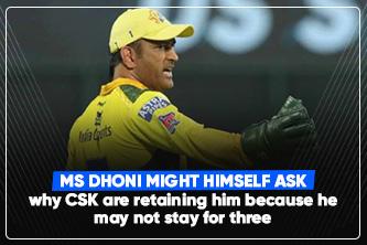 IPL 2022: Will CSK Retain MS Dhoni