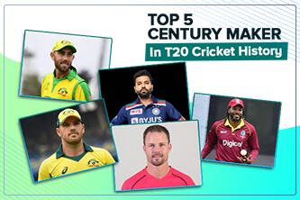 Top 5 Batsman who makes centuries in T20 Cricket League