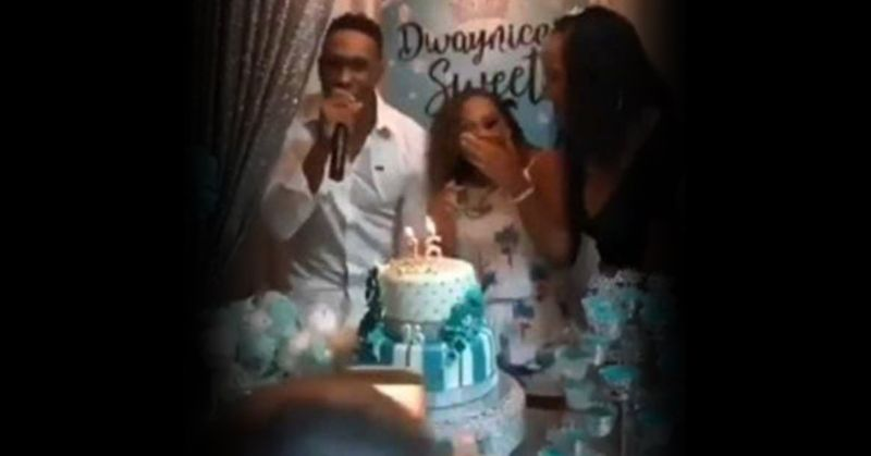 Dwayne Bravo and friends groove to 'Champion song'