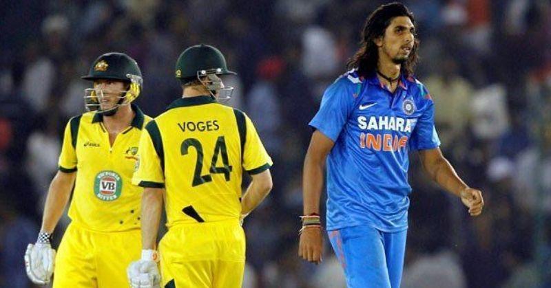Ishant Sharma recalls a moment in the 2013 ODI match