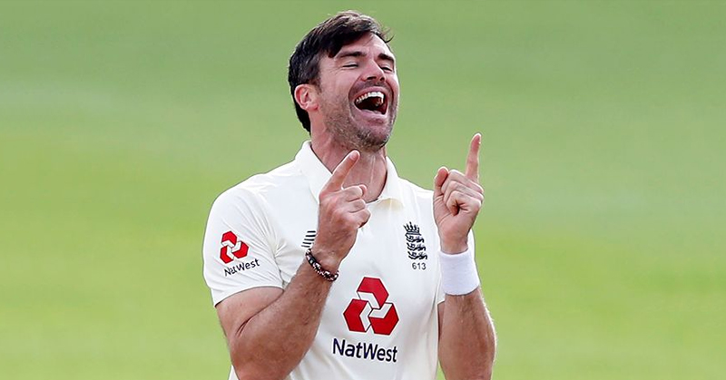 ENGLAND vs PAKISTAN: James Anderson becomes first fast bowler to reach 600 test wickets.