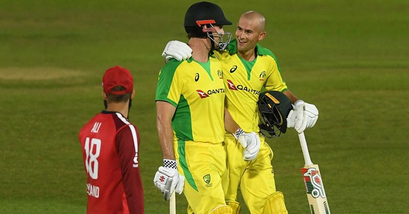 EnglandvAustralia, Australia cricket team, Australia cricketer, Aaron Finch, England cricketer.