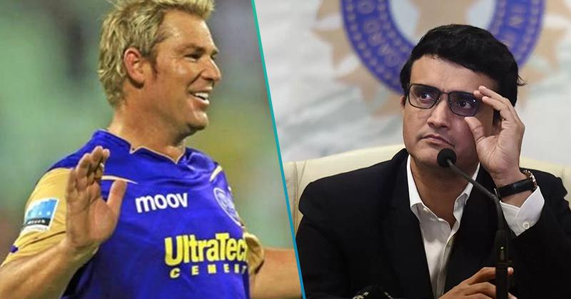 indian premier league 2020,shane warne,sourav ganguly,cricket ndtv sports