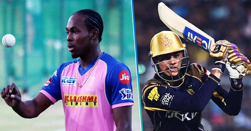 IPL 2020, Jofra Archer, Shubman Gill, RR - Rajasthan, KKR - Kolkata