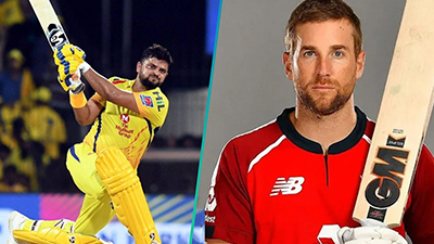 IPL 2020, Dawid Malan, Suresh raina