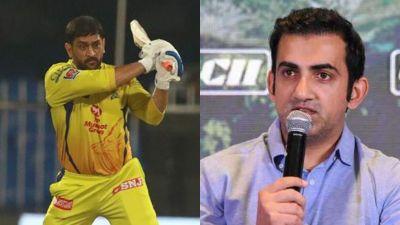 IPL 2020, RR, CSK, Gautam Gambhir