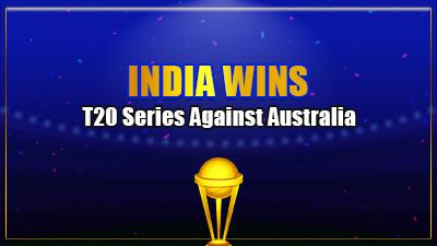 India wins T20 series against Australia