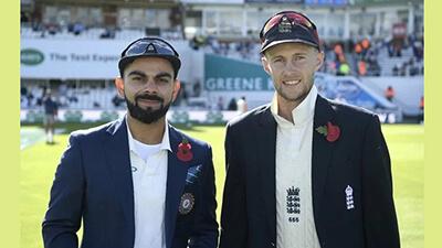 India-England