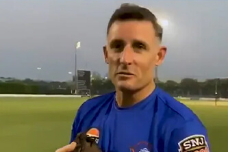 CSK Coaches Mike Hussey, Lakshmipathy Balaji Test Positive for COVID-19