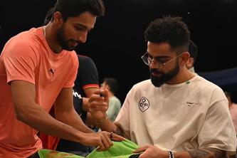 IPL 2021: RCB's Mohammed Azharuddeen to get Virat Kohli's autographed jersey framed