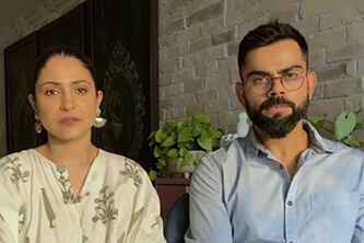 Anushka Sharma and Virat Kohli help raise funds for the world's most expensive medicine for a child