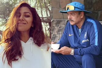 'Biggest load of cow dung': When Ravi Shastri responded to relationship rumors with actress Nimrat Kaur