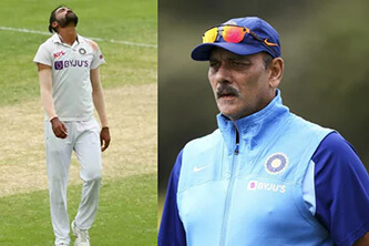 Siraj reveals what Shastri told him after his father's death during Aus tour