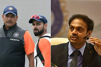 We didn't want to see each other: Prasad on his arguments with Kohli, Shastri